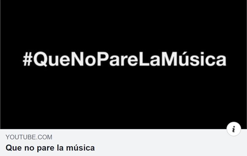 #QueNoPareLaMúsica