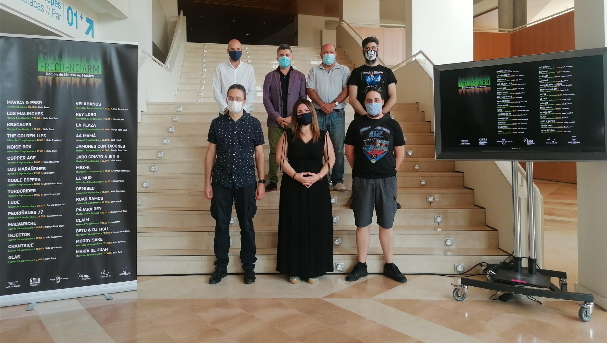 La música volverá en septiembre a las salas de conciertos con FrecuenciaRM